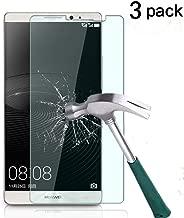 TANTEK Huawei Mate 8 Screen Protector, [Bubble-Free][HD-Clear][Anti-Scratch][Anti-Glare][Anti-Fingerprint] Tempered Glass Screen Protector for Huawei Mate 8 (6 Inch,2015),-[3Pack]
