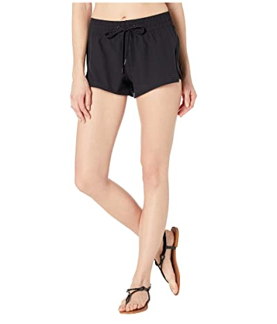 Billabong Sol Searcher 2.5 Volley Shorts (Black Pebble) Women