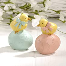 Blossom Bucket 191-12020 S/2 Chicks ON Easter Eggs, Multi-Colored