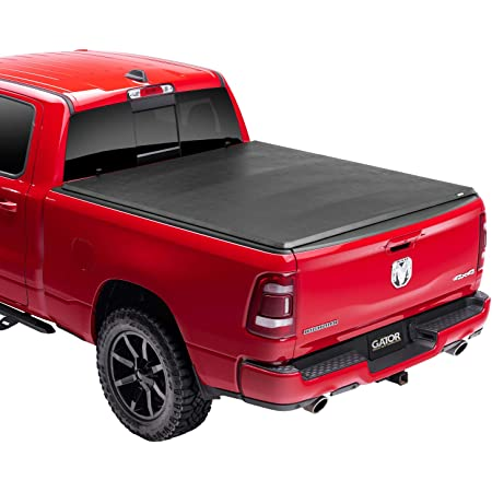"""Gator ETX Soft Tri-Fold Truck Bed Tonneau Cover   59421   Fits 2019 - 2021 Dodge Ram """"New Body Style"""" w/out multifunction tailgate 5' 7"""" Bed (67.4"""")   Made in the USA"""