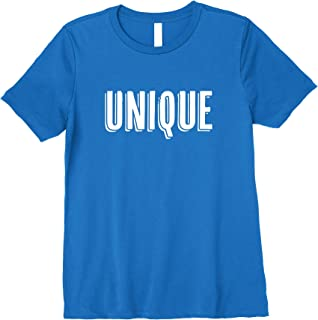 Superkids Inspirational Tshirts for Kids: I am unique