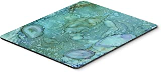 Caroline's Treasures 8963MP Abstract Crabs and Oysters Mouse Pad, Hot Pad or Trivet, Large, Multicolor