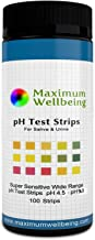 The Original Premium Quality Ph Test Strips for Urine and Saliva. A Fast, Accurate Way to Test Your Body Acid Alkaline Balance. More Accurate Than Litmus Paper or Ph Paper.