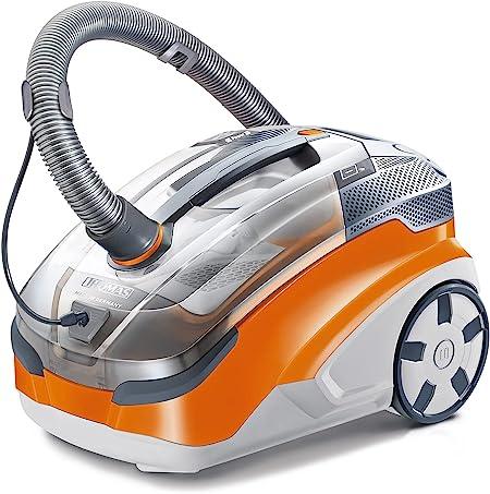 Thomas 788563 Aqua + PET & Family vacuum and washing vacuum cleaner, plastic, orange