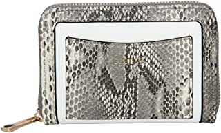 ESBEDA White Color Printed Animal Textured Wallet For Women