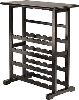 Winsome 92023-WW Vinny Wine Storage, Espresso