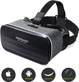 HAMSWAN Gafas de Realidad Virtual, Regalos para Padre 3D VR