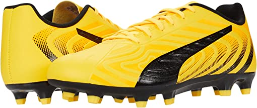 Ultra Yellow/Puma Black/Orange Alert