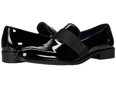 Steve Madden Renzzo Dress Loafer (Black Patent) Men