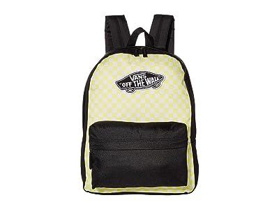 Vans Realm Backpack (Lemon Tonic/Checkerboard) Backpack Bags