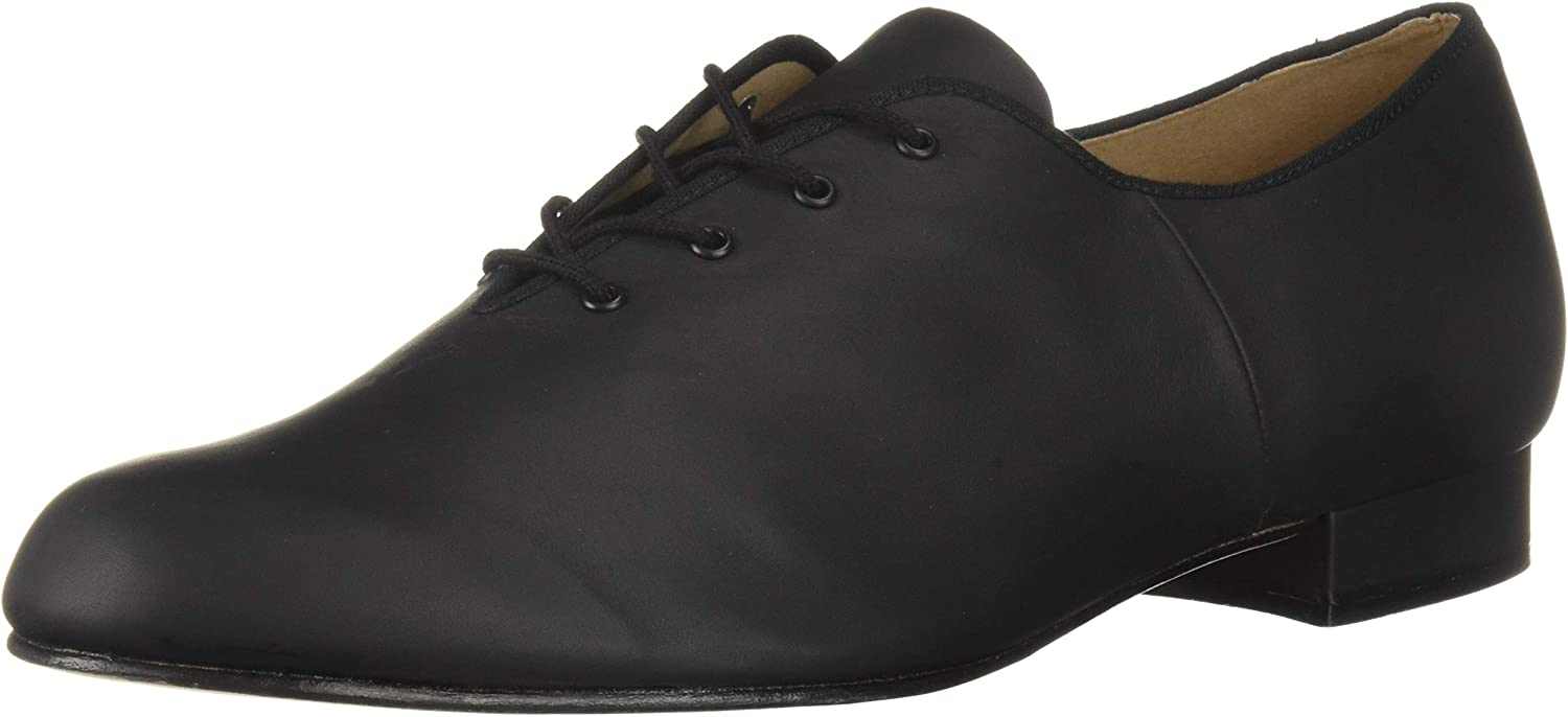 Bloch Dance Men's Jazz Oxford Leather Sole Character shoes