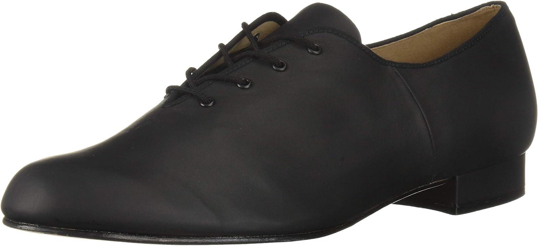 Bloch Dance herrar Jazz Oxford läder Sole Sole Sole Dance skor, svart, 13 Medium US  många medgivanden