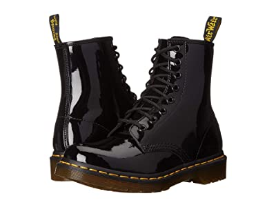 Dr. Martens 1460 W (Black Patent Lamper Leather) Women