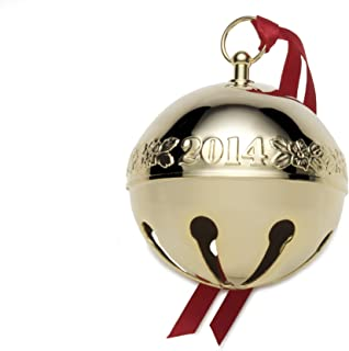 Wallace Gold-Plated Sleigh Bell Ornament, 25th Edition