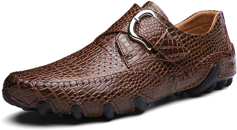 Det är en stor grej att män män män s skor Casuals Cut Out Slip on Hasp skor män Loafers Split läder  begränsad utgåva