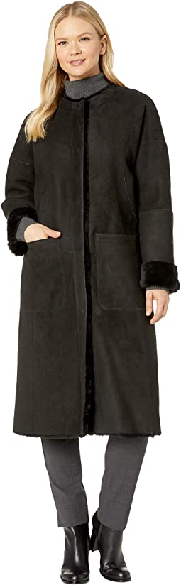 UGG Remy Reversible Shearling Coat