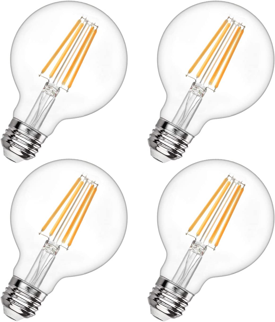 G25 Round Light Brand Cheap Sale Venue Bulb Dimmable Challenge the lowest price 60W Globe 2700 LED Equivalent