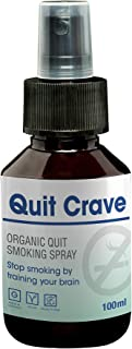 Quit Smoking by Quit Crave| Nicotine Free & Natural Product 100 ml | Stop Smoking | Alternative to Nicotine Lozenges & Nicotine Patches