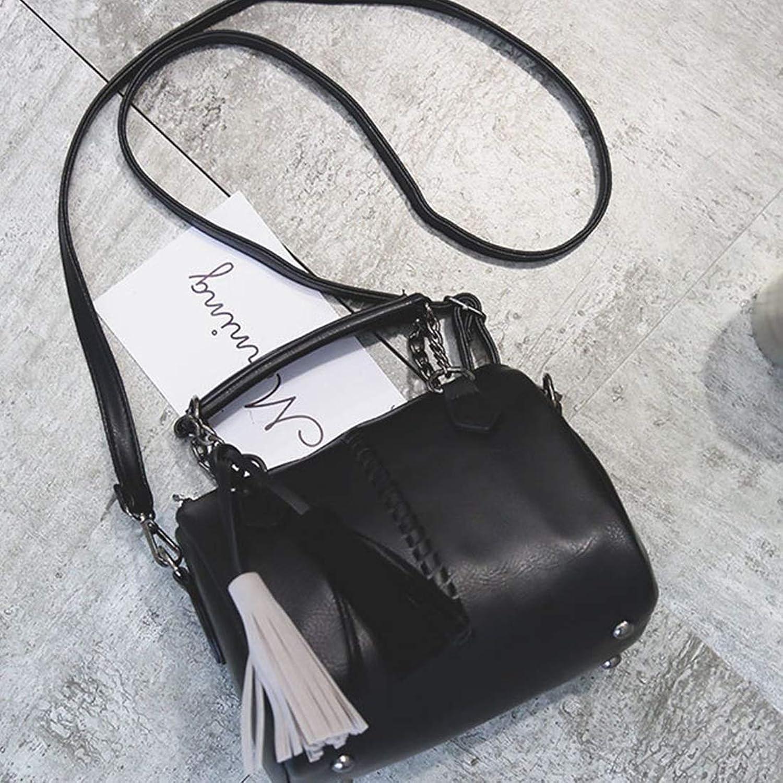 KERVINZHANG Leder Umhängetasche für Damen Tote Bag Bag Bag Schultertasche zurück Damenmode (Farbe   schwarz) B07MXFM7DX  Fein wild 0ba492