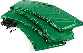 Ampel 24 trampoline randafdekking, passend voor trampoline Ø 305 cm, scheurbestendige veerafdekking en groene UV-bestendig...