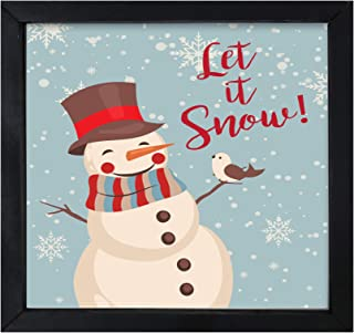 Best let it snow shadow box Reviews