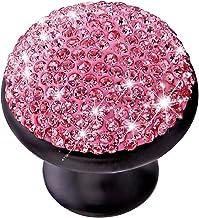 CLISPEED Kristallen Deurknop Metalen Kastknop Paddestoel Ontwerp Handgreep Voor Deurlade Dressoir Kledingkast Bureau Badka...