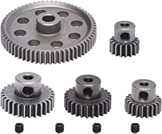Poweka 64T 17T 21T 26T 29T Motor Gear RC Part for HSP 1/10 Monster Truck