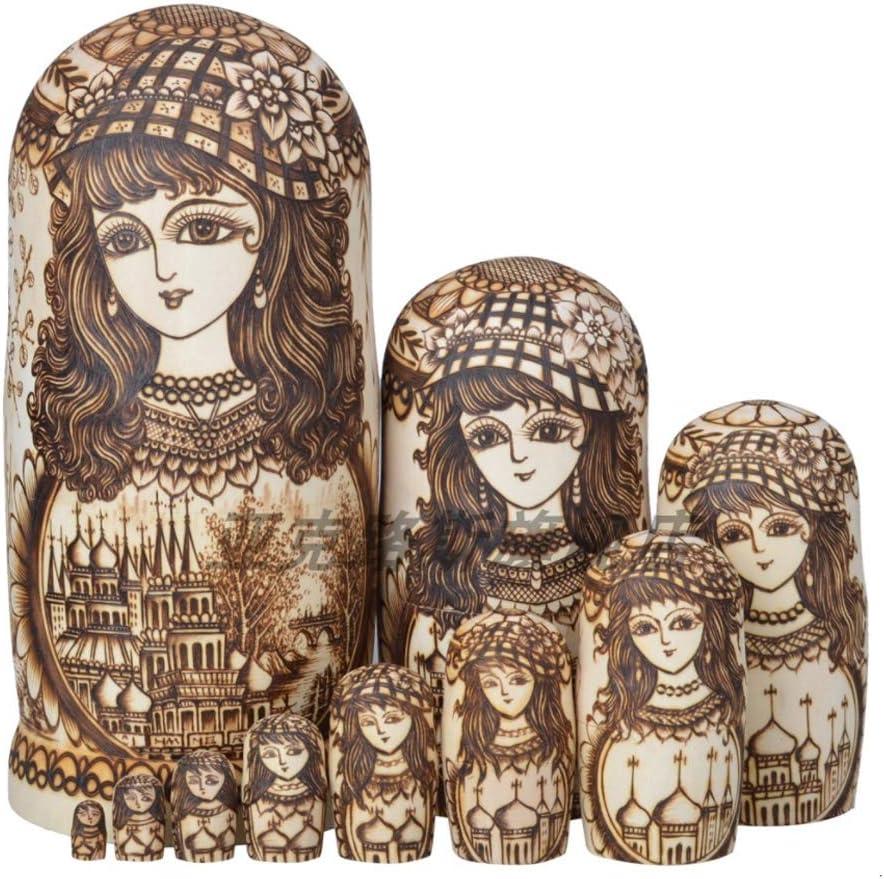 Max 48% OFF Ranking TOP16 LUAN Matryoshkas Nesting Dolls 10 Pcs NoFormalde Toys Matryoshka