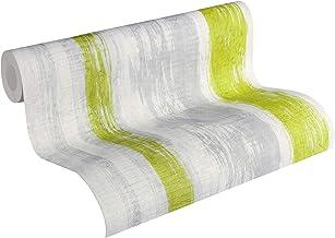 Schöner Wohnen Vliestapete Tapete in Vintage Beton Optik 10,05 m x 0,53 m gelb grau grün Made in Germany 944251 94425-1