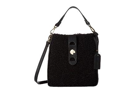 SOLE / SOCIETY Delaney Crossbody (Black) Handbags