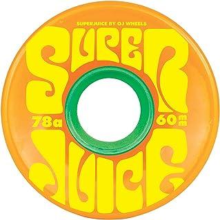 【OJ Wheels】オージェイウィール ミニ 55mm MINI Super Juice 78a ウィール スケートボード スケボー クルーザー(4個1セット)4カラー