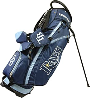 Team Golf MLB Fairway Golf Stand Bag, Lightweight, 14-way Top, Spring Action Stand, Insulated Cooler Pocket, Padded Strap, Umbrella Holder & Removable Rain Hood