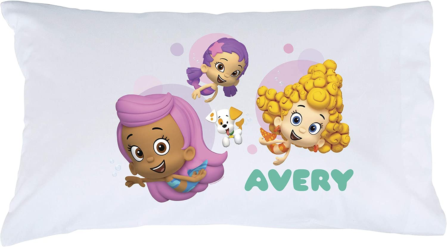 Personalized Bubble Guppies Pillowcase Girls depot Our shop most popular and Guppy Puppy on