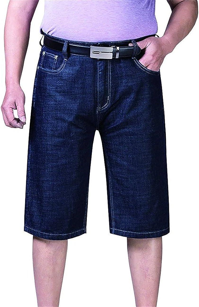 Vi-Fi Men's Big Tall Denim Shorts