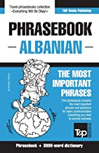 English-Albanian phrasebook and 3000-word topical vocabulary