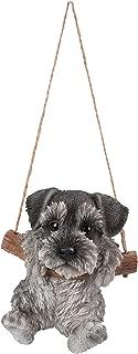 Hanging Schnauzer Puppy