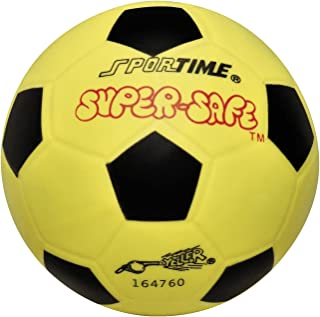 Sportime Super-Safe Soccer Ball - 6 inch - Yellow - 009092