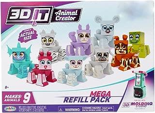 Jakks Paciffic EX: 3DIT Girl Animal Creator Mega Refill Pack