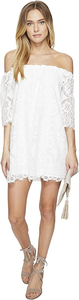 Halden Off the Shoulder Lace Dress
