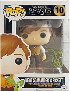 Funko Pop Fantastic Beasts: Newt Scamander and Pickett Collectible Figure, Multicolor