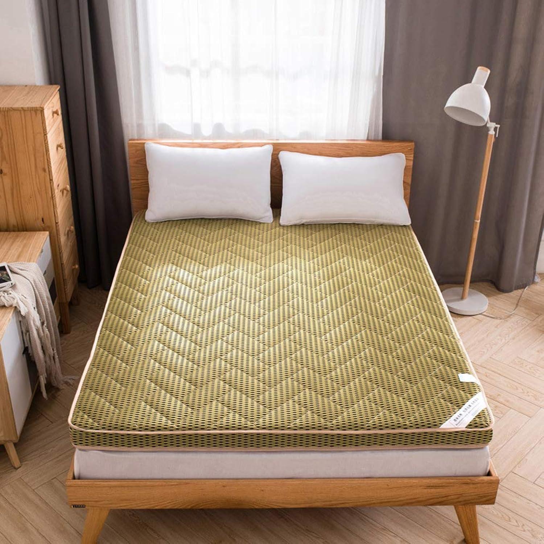 4 d Bamboo Charcoal Mattress pad, Bedding Stereo Breathable Tatami Mattress Topper Futon Mattress Mat-B 90x200x6cm