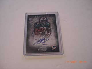 Lamar Miller 2012 Sp Topps Inception Auto Rookie Card Signed Card - NFL Autographed Football Cards