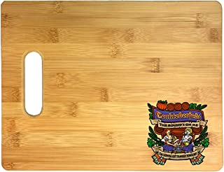 Conktoberfest I'm Gonna Get Tanked Tonight Squirrel Video Game Parody 3D COLOR Printed Bamboo Cutting Board - Wedding, Housewarming, Anniversary, Birthday, Mother's Day, Gift