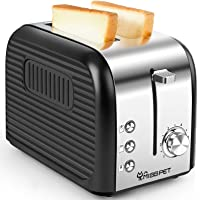 ALES 2 Slice Toaster w/Reheat/Defrost/Cancel Function Deals