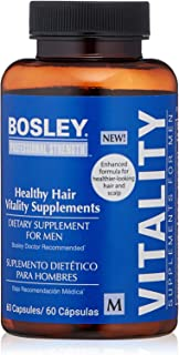 Bosley Professional Strength Hair Supplement for Men