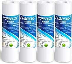 """5 Micron 10"""" x 2.5"""" Whole House Sediment Water Filter Replacement Cartridge Compatible with Any 10 inch RO Unit, Culligan ..."""