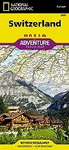 سويسرا (ناشونال جيوغرافيك المغامرة خريطة)