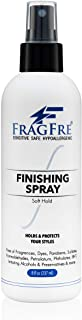 FRAGFRE Hair Finishing Spray 8 oz - Flexible Soft Hold - Hair Spray for Sensitive Skin - Fragrance Free Hypoallergenic Par...
