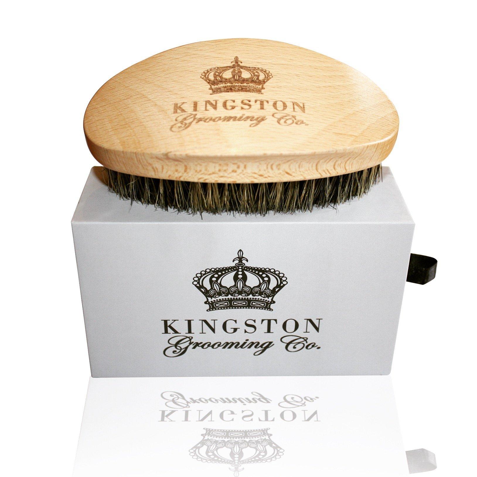 Kingston Grooming Professional Beechwood Engraved