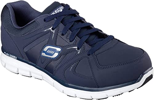 Skechers for Work Hommes's Synergy Ekron Alloy Toe Work chaussures